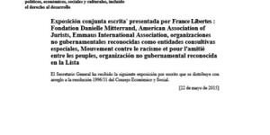 Violaciones al derecho humano al agua y al saneamiento generadas por la proliferación de las industrias extractivas en México ONU
