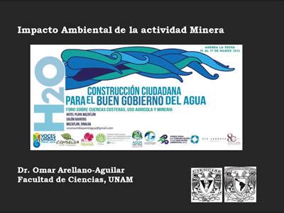 Omar Arellano (Impacto ambiental de la actividad Minera)